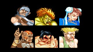 Illustration for article titled Street Fighter's Characters Take a Punch (or Three) to the Face