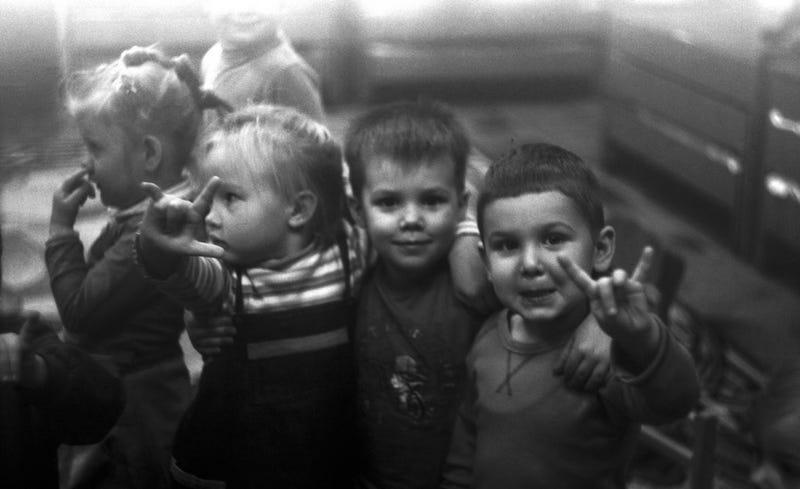 Niños de primaria. Foto: joanna keler / Flickr bajo licencia Creative Commons.