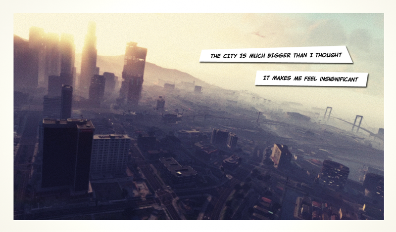 Illustration for article titled ​Very Pretty GTA V Pictures Make for a Super-Depressing Letter