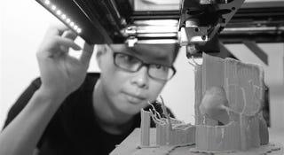 Illustration for article titled La impresión 3D con hueso real abre una nueva vía a los trasplantes