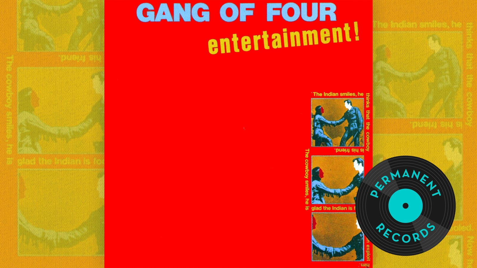 """Art meets the devil via James Brown"": The everlasting impact of Gang Of Four's Entertainment!"