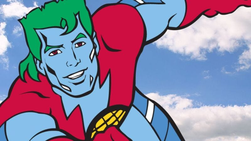 Illustration for article titled Live-action Captain Planet movie to save the world through heroic lecturing