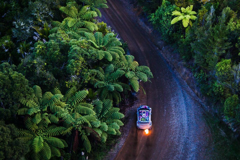 Illustration for article titled Look At This Otherworldly Photo Of Ken Block Racing In New Zealand