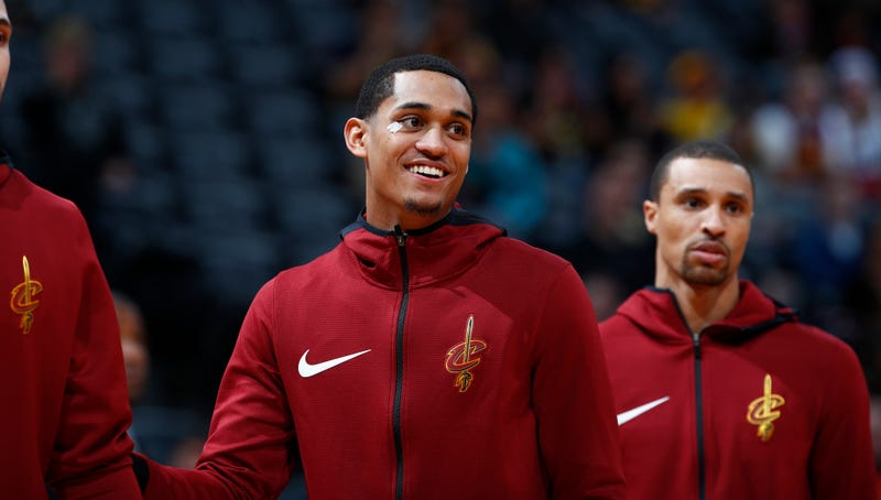 """Illustration for article titled Jordan Clarkson Has A Theory That Dinosaurs Were Really Pets For """"Bigger People"""""""