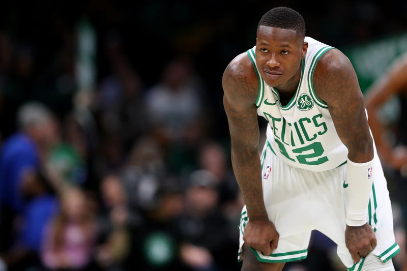 """Illustration for article titled Terry Rozier, After Celebrating Becoming A Knick, Upon Offer To Not Play For The Knicks: """"We Gonna Have To Take That One"""""""