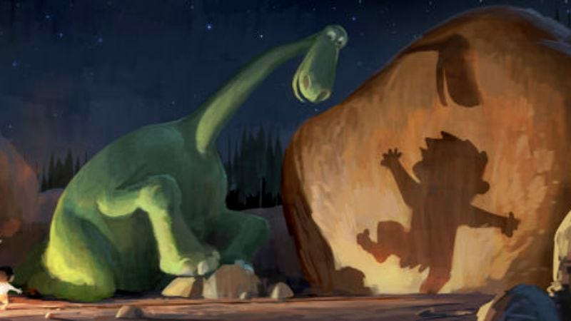 Illustration for article titled Pixar no longer believes in Bob Peterson as director of The Good Dinosaur, in what is sadly not the set-up for a Pixar movie