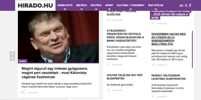 Illustration for article titled Vezető anyagban gyalázza az Indexet a közszolgálati tévé weboldala