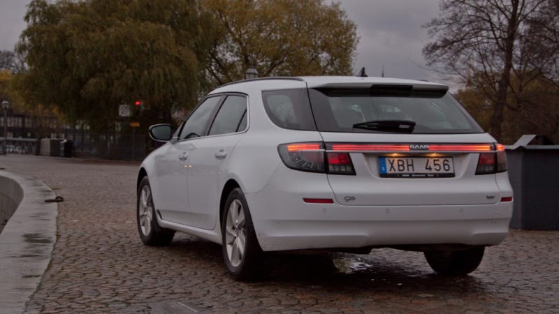 Illustration for article titled How I Made This Saab 9-5 SportCombi Prototype Road Legal