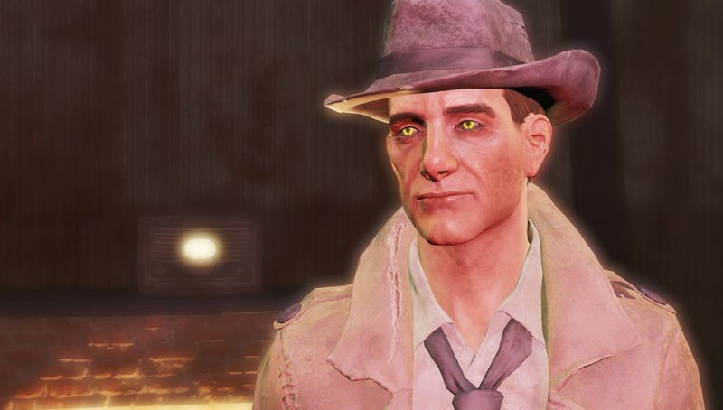 Illustration for article titled Fallout 4 Mod Upgrades Nick Valentine To A Gen-3 Synth