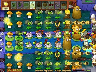 Illustration for article titled Plants vs Zombies Shambling Onto Xbox Live Arcade's Lawn