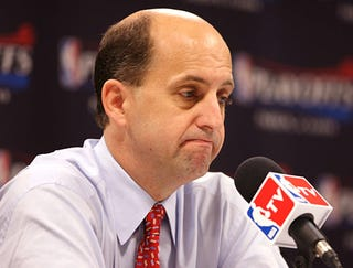Illustration for article titled Jeff Van Gundy Looking Even Sadder Than Usual