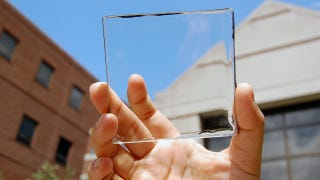 Illustration for article titled ​We're One Step Closer To Transparent Solar Windows For Cars