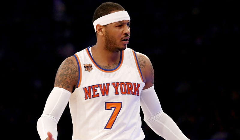 Carmelo Anthony Willing to Waive $8 Million Trade Kicker for Rockets