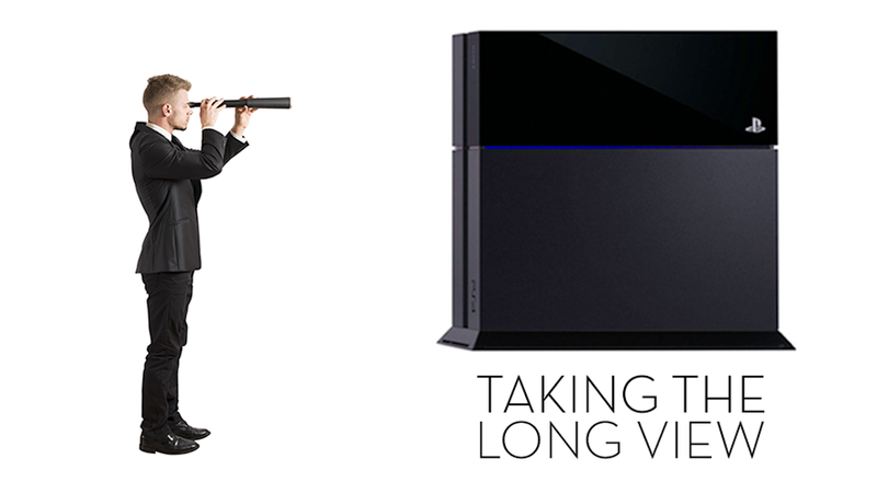 Illustration for article titled Sony Actually Has A Very Different Future In Mind For PlayStation 4