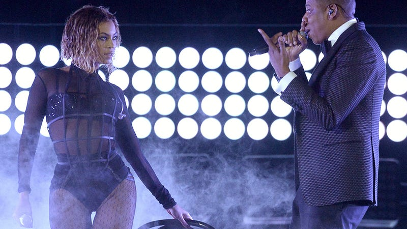 Illustration for article titled Beyoncé and Jay Z Will Be Drunk In Love All Summer on Joint Tour