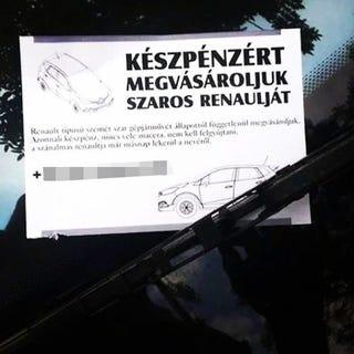 Illustration for article titled Akkor most ő tényleg gyűlöli a szaros Renault-kat?