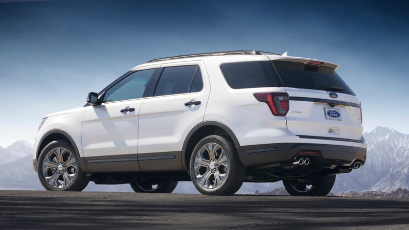 Illustration for article titled There May Be A Ford Explorer ST Coming Too: Report