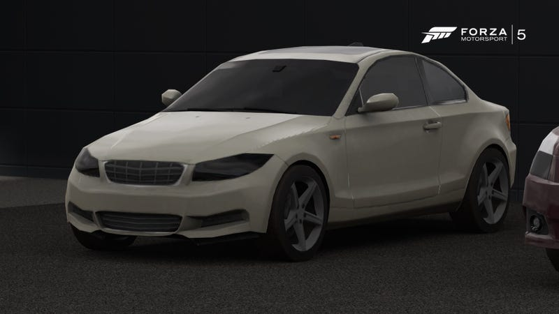 Illustration for article titled Monogrilled BMW 1 series confirmed for Forza 5