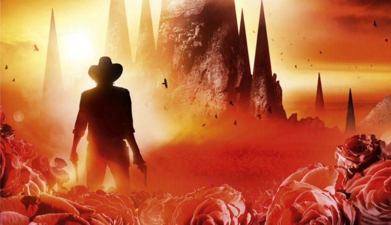 Illustration for article titled Here's Your 'First' Official Look at Roland and the Man in Black in The Dark Tower Movie