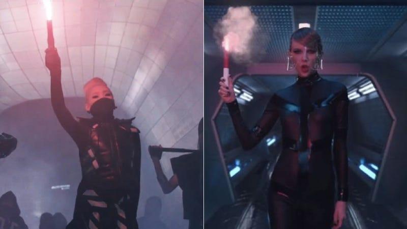 Illustration for article titled Did Taylor Swift's 'Bad Blood' Copy K-Pop Superstars 2NE1?