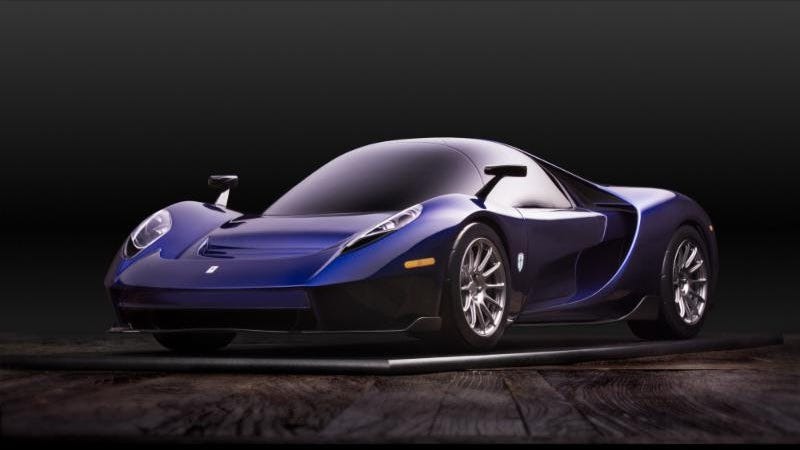 Illustration for article titled TheScuderia Cameron Glickenhaus 004S Is A 650 HP American-Made Mid-Engined Road Car Built To Race