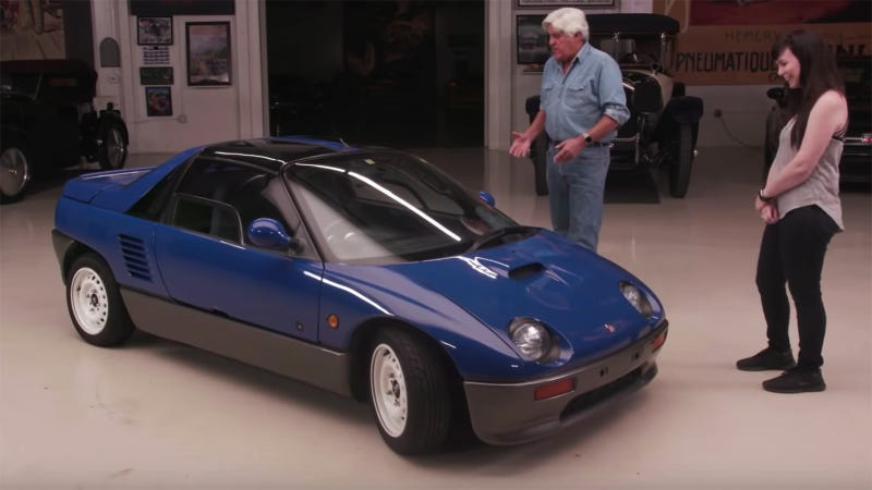 Illustration for article titled Learn Everything About the Autozam AZ-1 With Jay Leno