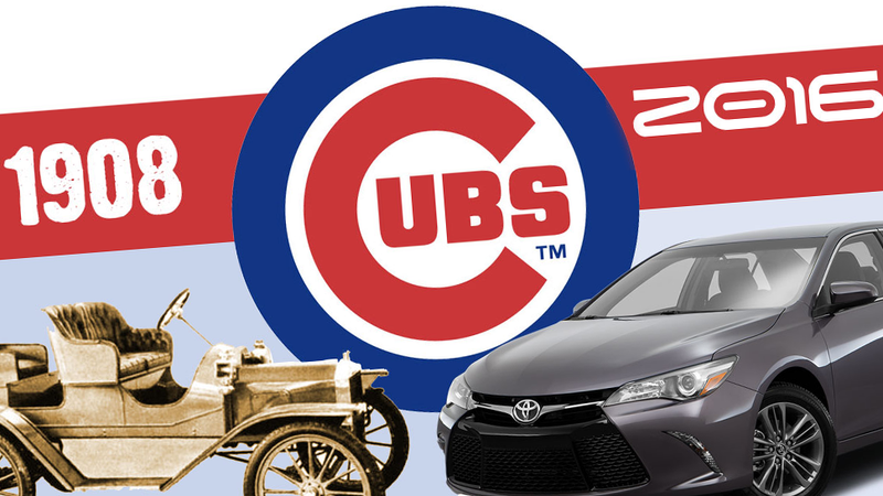 Illustration for article titled Here's How Much Cars Have Changed Since The Last Time The Cubs Won A World Series