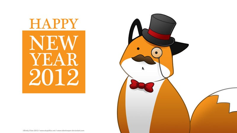 Illustration for article titled CAH in the new year (2012 is what I get for having Stupid Fox make the sign...)