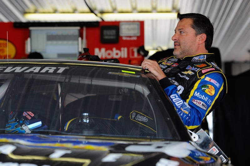 "Illustration for article titled ""Business As Usual"": Tony Stewart Plans To Race Today"