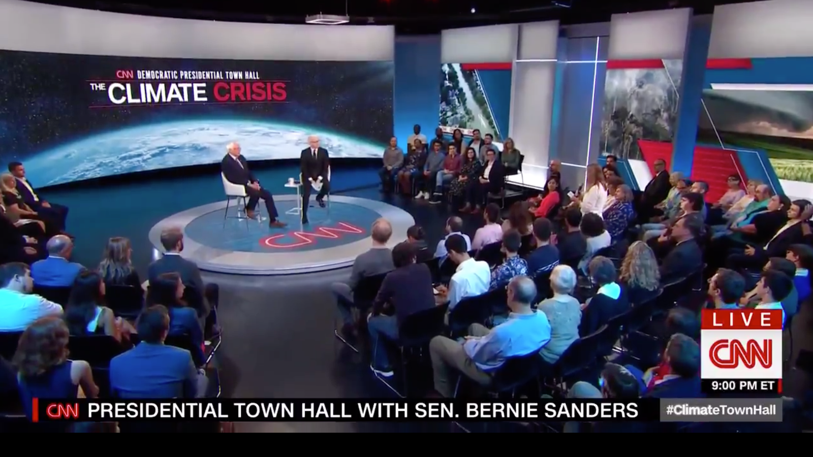 CNN's Town Hall Finally Aired Climate Change's Big Dirty Secret - Gizmodo