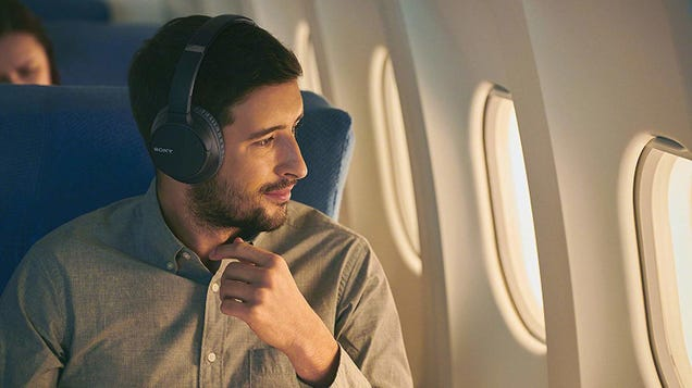 Enjoy Quiet Time Any Time With These Discounted Sony Noise Canceling Headphones