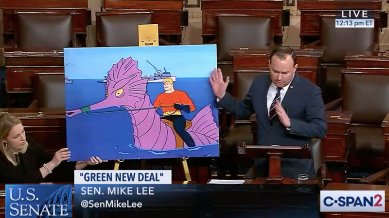 Illustration for article titled Green New Deal Voted Down in Senate After Some Real Bullshit