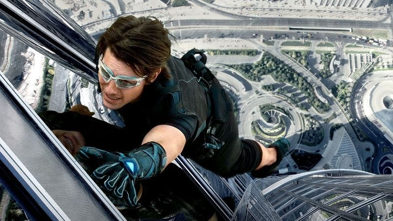 Illustration for article titled Our mission, which we accepted, was to watch the Mission: Impossible films