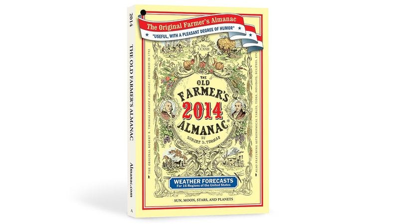 Illustration for article titled Farmers' Almanac Predicting Short Season For Primetime Dramas