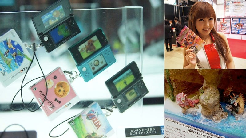 Illustration for article titled From Teeny Game Machines to Plastic Monsters, Have a Look at The Tokyo Toy Show!