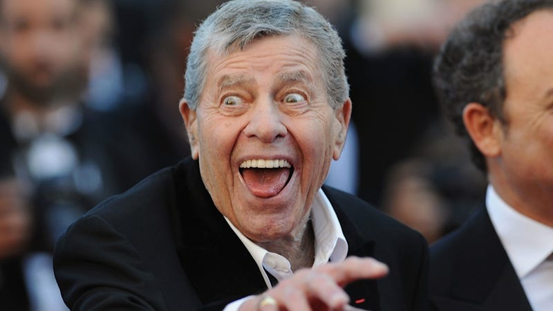 Illustration for article titled Crusty Old Dickhead Jerry Lewis Still Doesn't Like Female Comedians