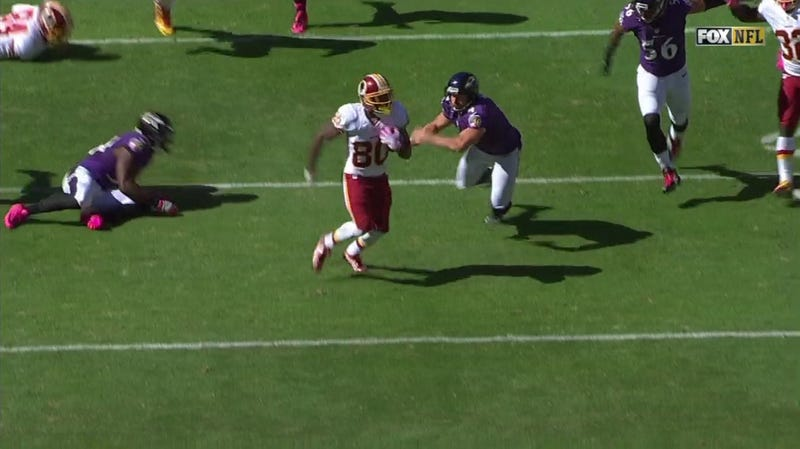 Illustration for article titled Washington Gets First Punt Return Touchdown Since 2008, Misses Extra Point