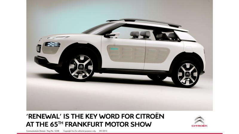 Illustration for article titled 'Renewal is the Key Word for Citroën at the 65th Frankfurt Motor Show
