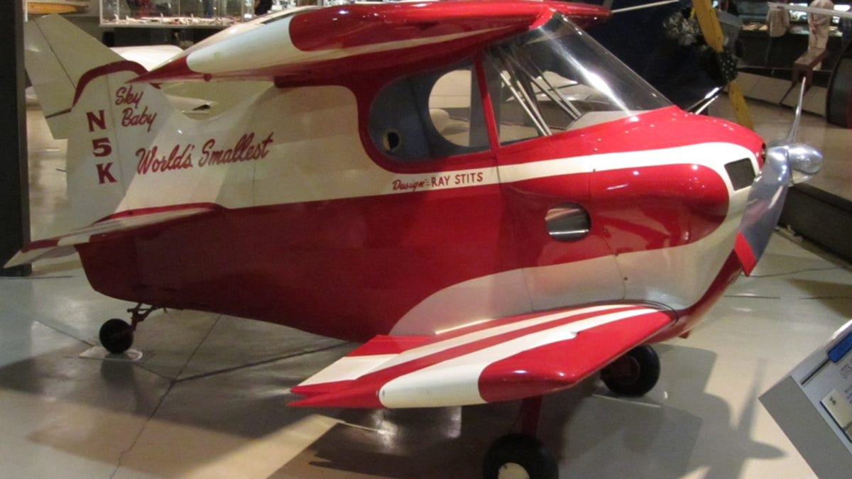 The Ten Smallest Human-Operated Aircraft Ever To Fly