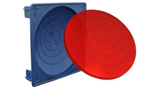 Illustration for article titled Use This Jello Mold to Make a Completely Ineffective Captain America Shield