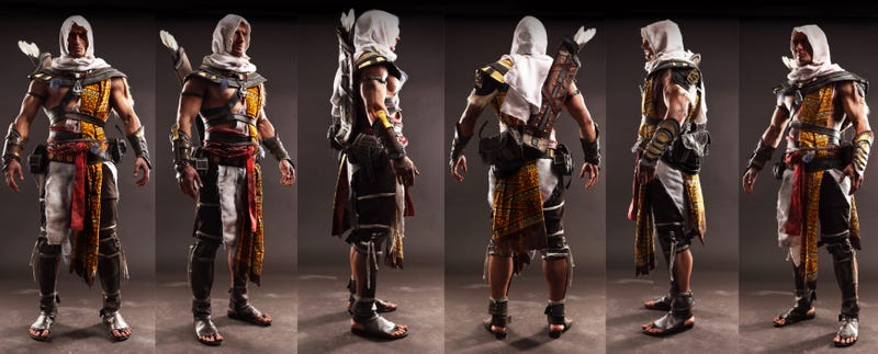 Illustration for article titled Assassin's Creed Cosplay May As Well Be A Screenshot