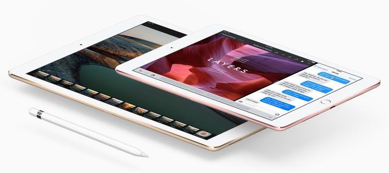 """Illustration for article titled El nuevo iPad Pro de 9,7"""" tiene la mitad de memoria RAM que la versión de 12,9 pulgadas"""