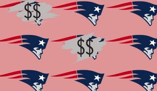 Illustration for article titled Patriots Team Up With State Lotto; NFL Conveniently Forgets That It Pretends To Hate Gambling