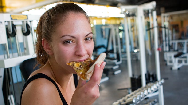 Illustration for article titled Fitness center lures customers with free pizza