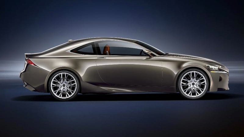 Illustration for article titled The Lexus LF-CC Concept Looks Like A New IS Coupe