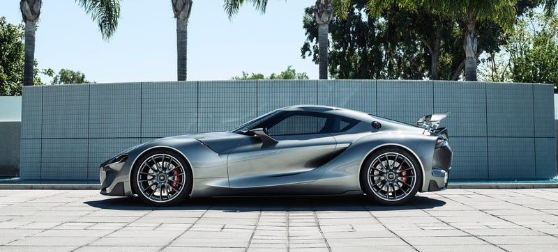 Illustration for article titled Toyota's Mythical New Supra May Have A 400-Horsepower Twin-Turbo V6