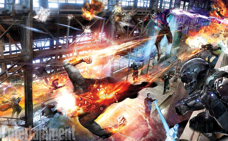 Illustration for article titled First Concept Art From CW's Legends of Tomorrow Looks Exciting