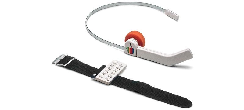 """Illustration for article titled El primer """"smartwatch"""" de Apple es este concepto de los años 80"""