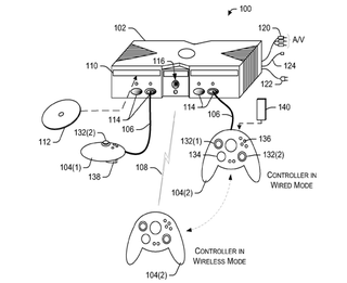 Microsoft patent shows a dual mode xbox 360 controller a microsoft patent shows off a new dual mode xbox 360 controller that can be used both wired and wirelessly unlike the current play and charge kit ccuart Gallery