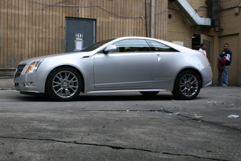 Illustration for article titled Cadillac CTS Coupe: First Ride